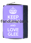 "Кошелек ""Keep calm and love glee"""