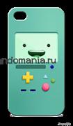 """Чехол для мобильного телефона """"БиМО"""" (Время приключений)"""