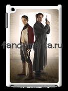 """Чехол для iPad """"Джек Харкнесс и Джон Харт"""" (Торчвуд)"""