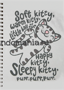 "Блокнот ""Soft kitty"" (Теория большого взрыва)"