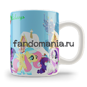 "Кружка ""My Little Pony. Happy Hollidays"""