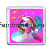 "Магнит ""My Little Pony. Merry Christmas"""