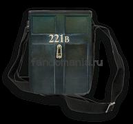 "Сумка с клапаном ""221B"" (Шерлок)"