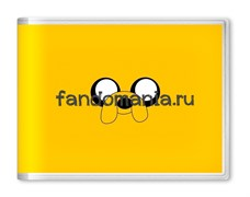 """Обложка на студенческий билет """"Финн и Джейк"""" (Время приключений)"""