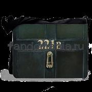 """Сумка с клапаном большая """"221B"""" (Шерлок)"""