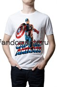 "Футболка ""Captain America"" (Капитан Америка)"