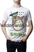 "Футболка ""Тоторо"" (Мой сосед Тоторо. Хаяо Миядзаки)"