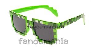 Очки Крипера зеленые (Майнкрафт)
