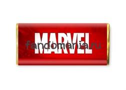 """Шоколадная плитка """"Марвел"""""""
