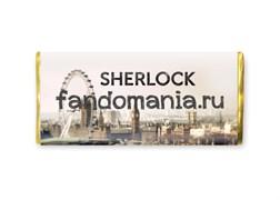 "Шоколадная плитка ""Sherlock"" (Шерлок BBC)"