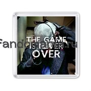 """Магнит """"The Game is never over"""""""