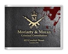 "Обложка на студенческий билет ""Мориарти и Моран"" (Шерлок)"
