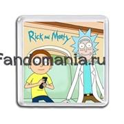 """Магнит """"Рик и Морти"""""""