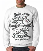 """Свитшот """"Soft Kitty"""" (Теория большого взрыва)"""