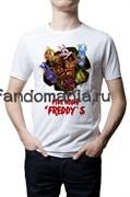 """Футболка """"Five nights at Freddy's"""" (Пять ночей с Фредди)"""