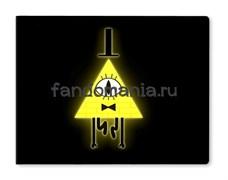 """Обложка на студенческий билет виниловая """"Билл""""  (Гравити Фолз)"""