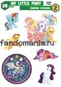 Набор стикеров My Little Pony