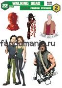 Набор стикеров Walking Dead
