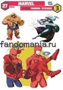 Набор стикеров Marvel