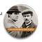 "Значок ""Шерлок Холмс и Доктор Уотсон"" - фото 4064"
