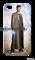 """Чехол для мобильного телефона """"Десятый Доктор"""" (Доктор Кто) - фото 5202"""
