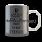 """Кружка """"Keep calm..."""" (Волчонок) - фото 5516"""