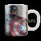 """Кружка """"Капитан Америка. Первый мститель"""" - фото 6310"""