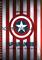 """Блокнот """"Капитан Америка"""" Marvel - фото 6565"""